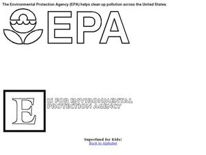 EPA Environmental Protection Agency Worksheet
