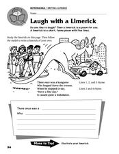 Laugh With a Limerick Worksheet