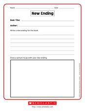 New Ending Worksheet
