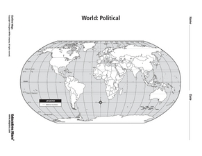 World Political Map Lesson Plans & Worksheets Reviewed by ...