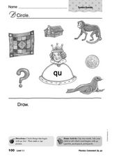 Phonics: Qu Worksheet