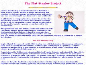 The Flat Stanley Project Lesson Plan