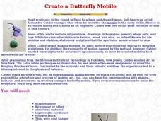 Create a Butterfly Mobile Lesson Plan