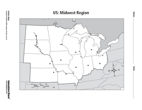 US: Midwest Region Worksheet
