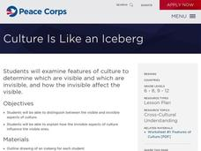 Culture is Like an Iceberg Lesson Plan