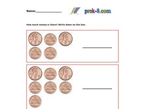 Counting Coins 4 Worksheet