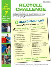 Recycle Challenge Worksheet