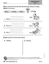 Phonics: Inflected Ending -ing Worksheet