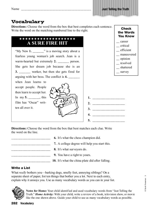 The Voice of Truth   Free Worksheet - Blessing Manifesting