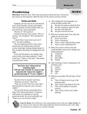 Predicting: Missing Links Worksheet