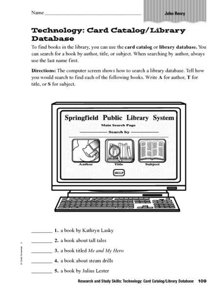 Worksheets John Henry Worksheets john henry by lester lesson plans worksheets reviewed teachers card cataloglibrary database activity henry