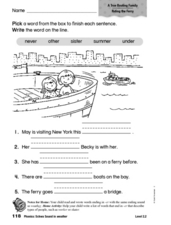 Phonics: Schwa Sound in Weather Worksheet