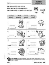 phonics long e ie ey worksheet for 1st 2nd grade lesson planet. Black Bedroom Furniture Sets. Home Design Ideas