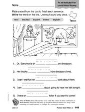 Phonics: Vowel Pattern ex Worksheet