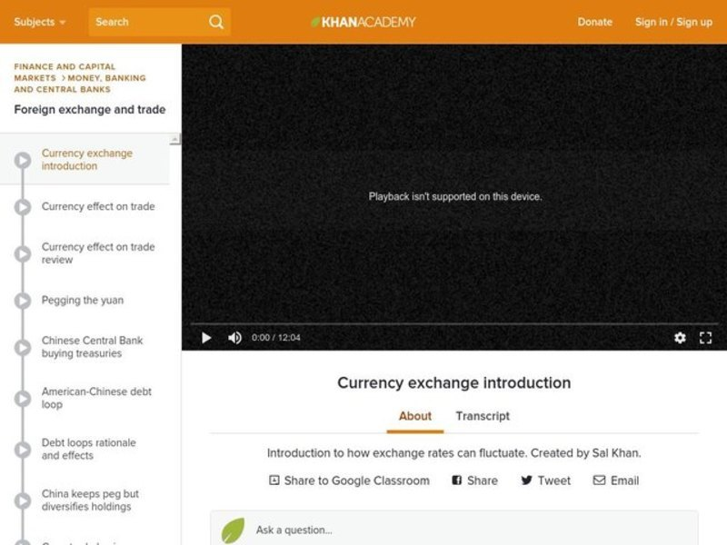 Currency Exchange Introduction Video