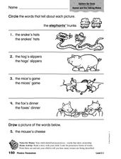 Phonics: Possessives Worksheet
