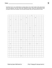 Solar Activity Worksheet