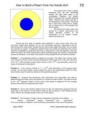 How To Build a Planet From The Inside Out! Worksheet