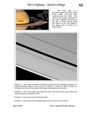 Pan's Highway-Saturn's Rings Worksheet