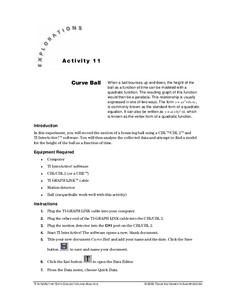 Curve Ball Lesson Plan