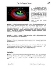 The Io Plasma Torus Worksheet