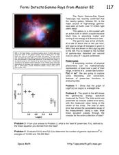 Fermi Detects Gamma-Rays from Messier Worksheet