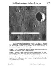 LRO Explores Lunar Surface Cratering Worksheet