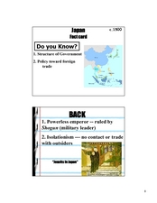 Japan  Fact card Lesson Plan