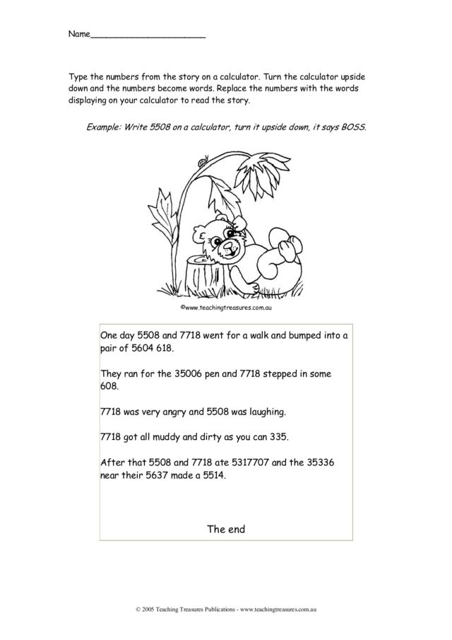 calculator fun math worksheet for 3rd 4th grade lesson planet. Black Bedroom Furniture Sets. Home Design Ideas
