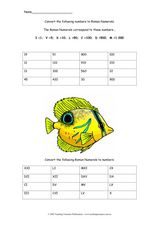 Roman Numeral Conversions 2 Worksheet
