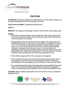 Cut It Out Lesson Plan