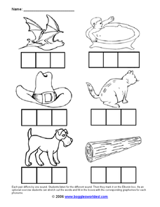 Which Sound Is Different? Worksheet