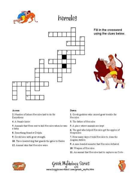 Hercules (Greek Myths) by BiltonStilton - Teaching Resources - Tes