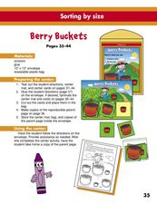 Berry Buckets Lesson Plan