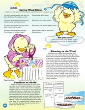 Spring Wind Blows Lesson Plan