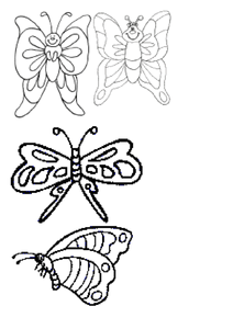 Butterfly Mobile Worksheet