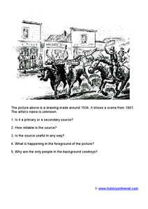 Primary/Secondary Source Activity Worksheet