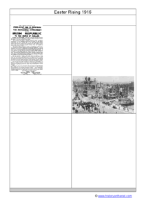 Easter Rising 1916 Worksheet