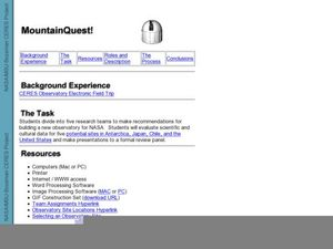 MountainQuest! Lesson Plan
