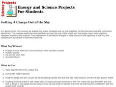 Getting A Charge Out of the Sky Lesson Plan