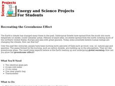 Recreating the Greenhouse Effect Lesson Plan