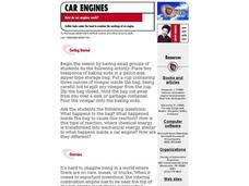 Car Engines Lesson Plan