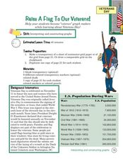 Raise a Flag to Our Veterans Lesson Plan