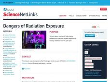 Dangers of Radiation Exposure Lesson Plan