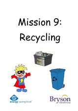 Mission 9: Recycling Worksheet