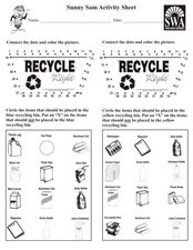Sunny Sam Activity Sheet Worksheet
