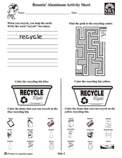 Boomin' Aluminum Activities Worksheet