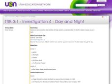 Day and Night Lesson Plan