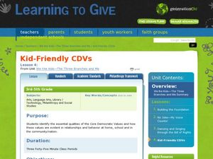 Kid-Friendly CDVs Lesson Plan