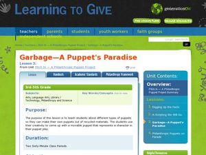 Garbage: A Puppet's Paradise Lesson Plan